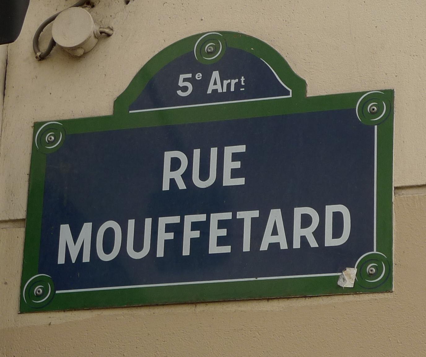 Rue Mouffetard  Soundlandscapes Blog