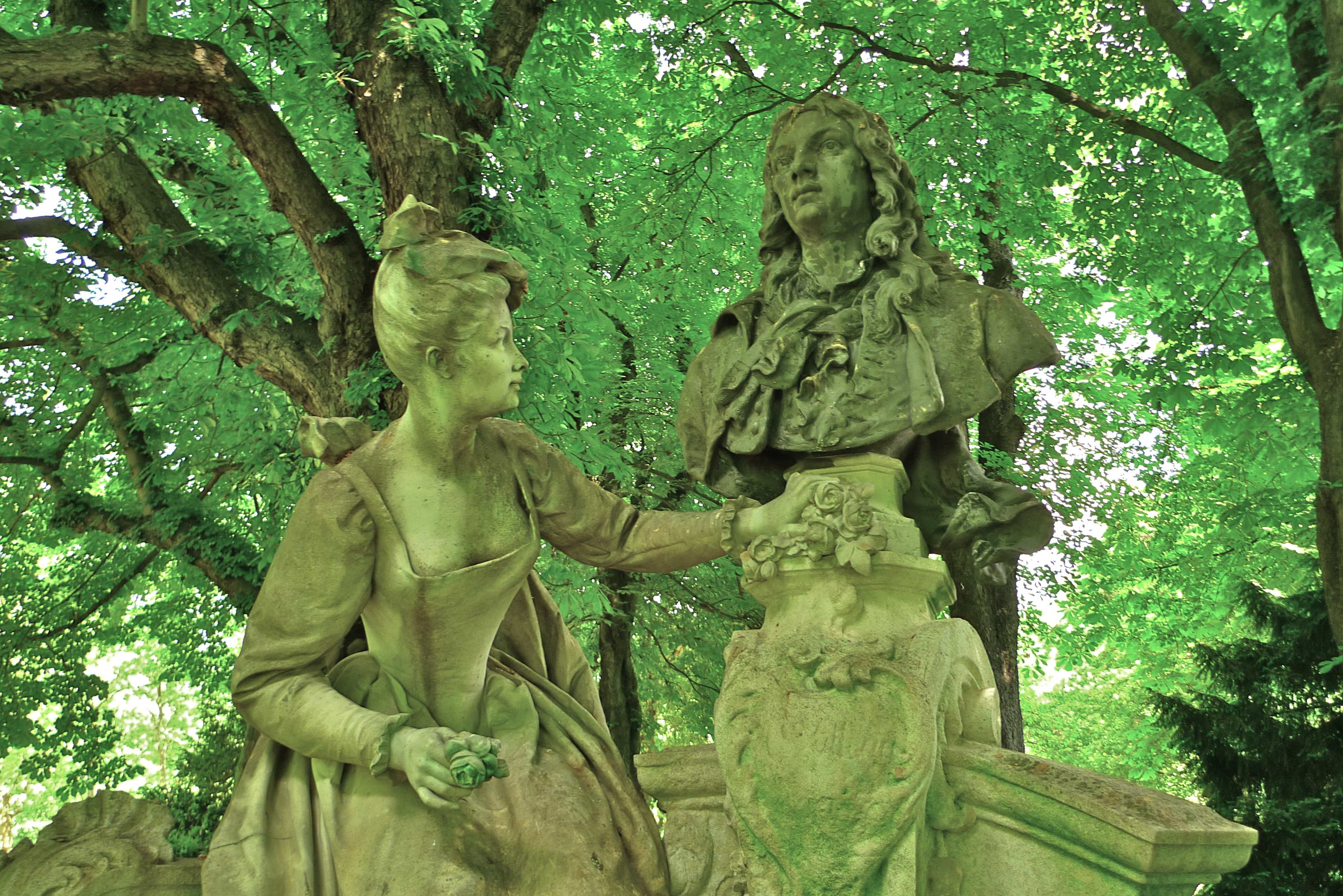 Sounds in the Jardin du Luxembourg