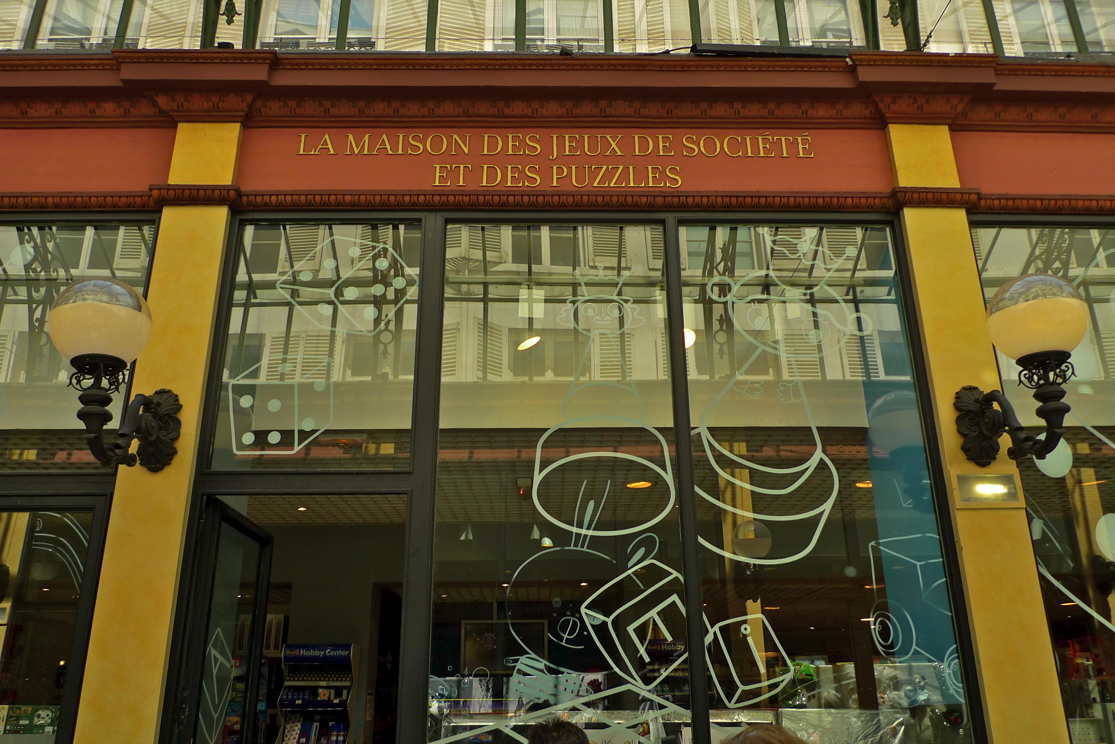 Maison Du Puzzle Paris passage des princes | soundlandscapes' blog