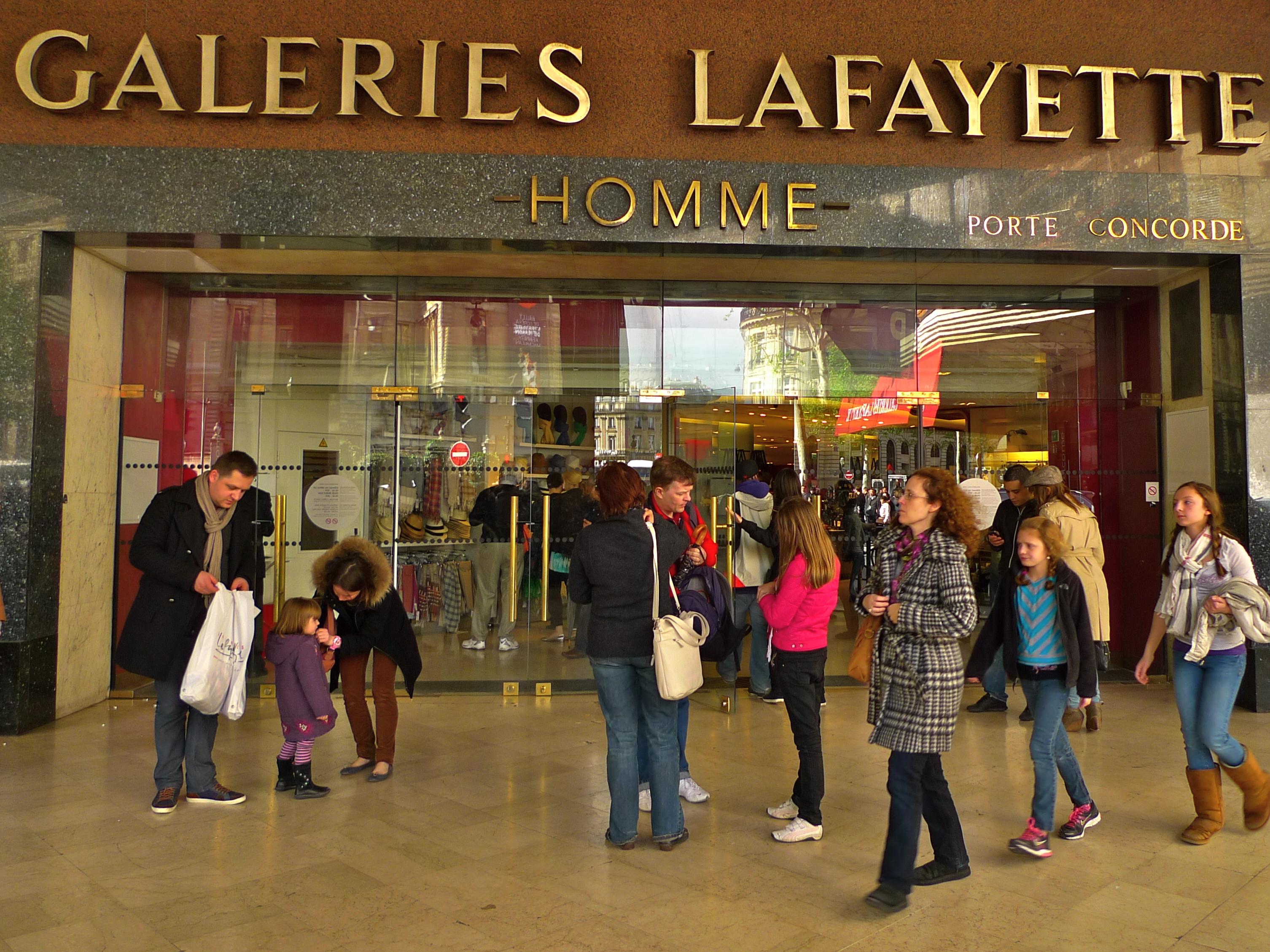 Galeries Lafayette | tourist visit