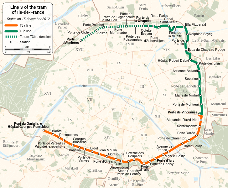 Paris Tramway Extended With New Sounds Soundlandscapes