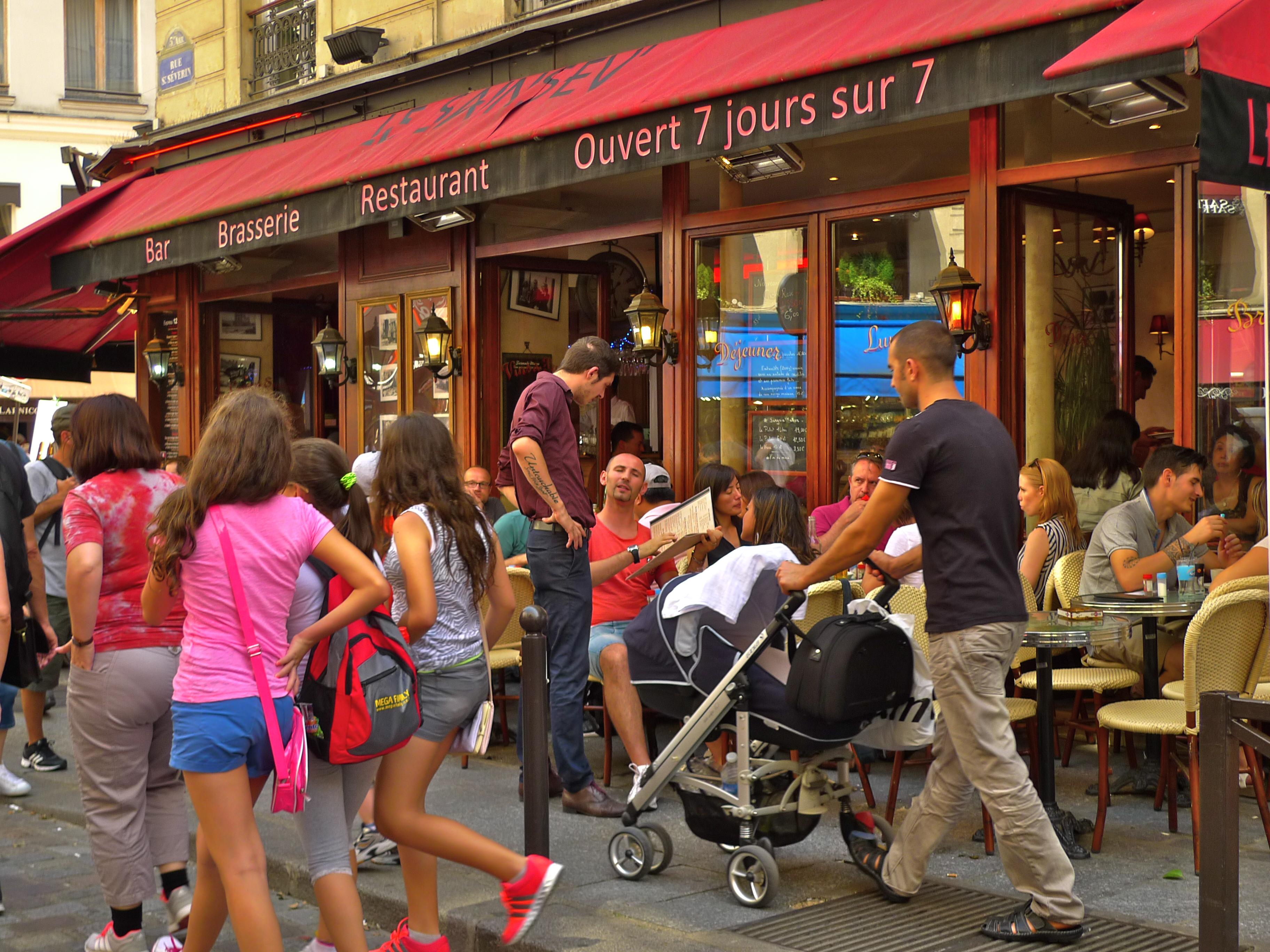 Cafe Saint Severin