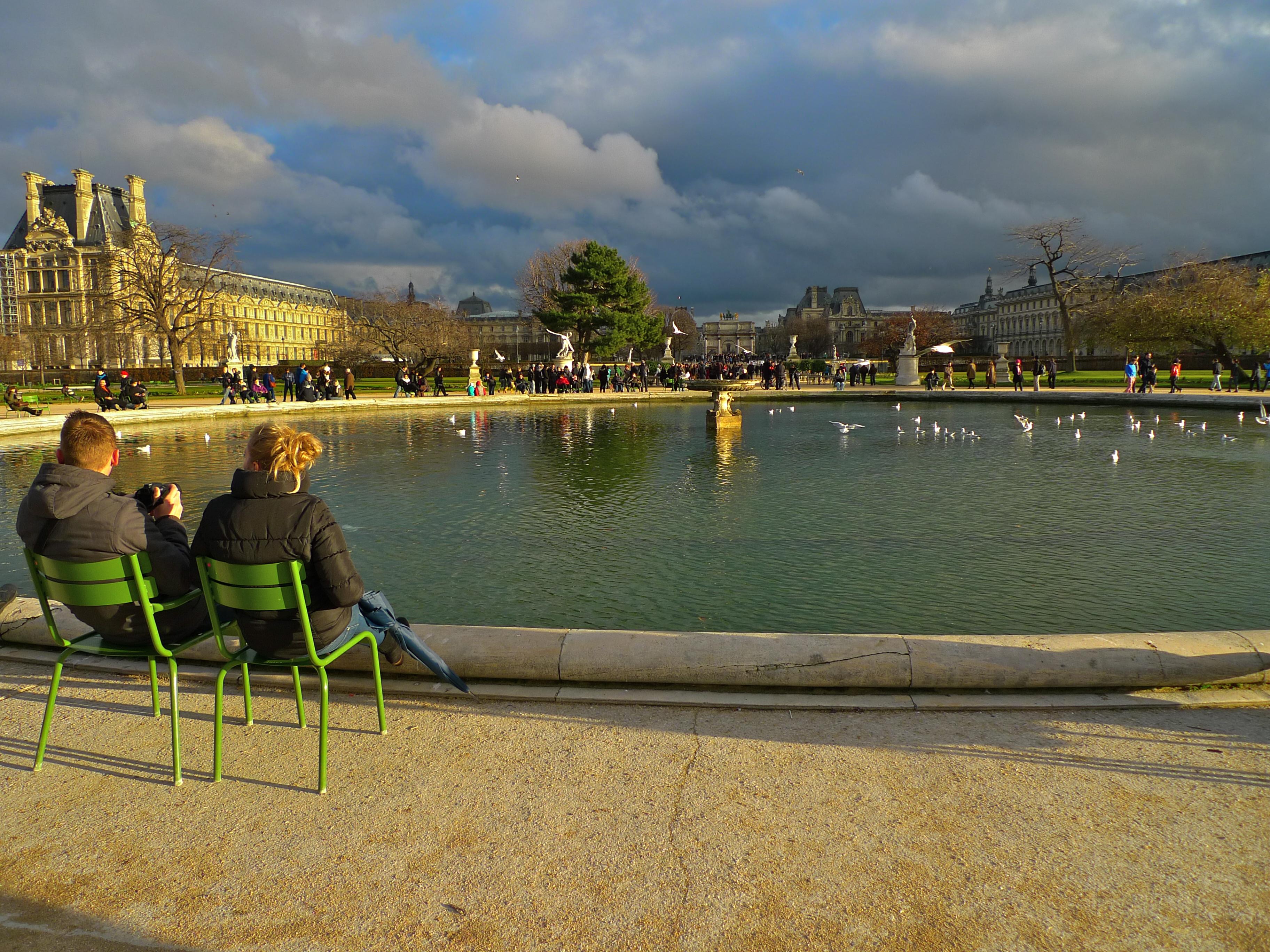 Christmas Day in the Jardin des Tuileries | Soundlandscapes\' Blog