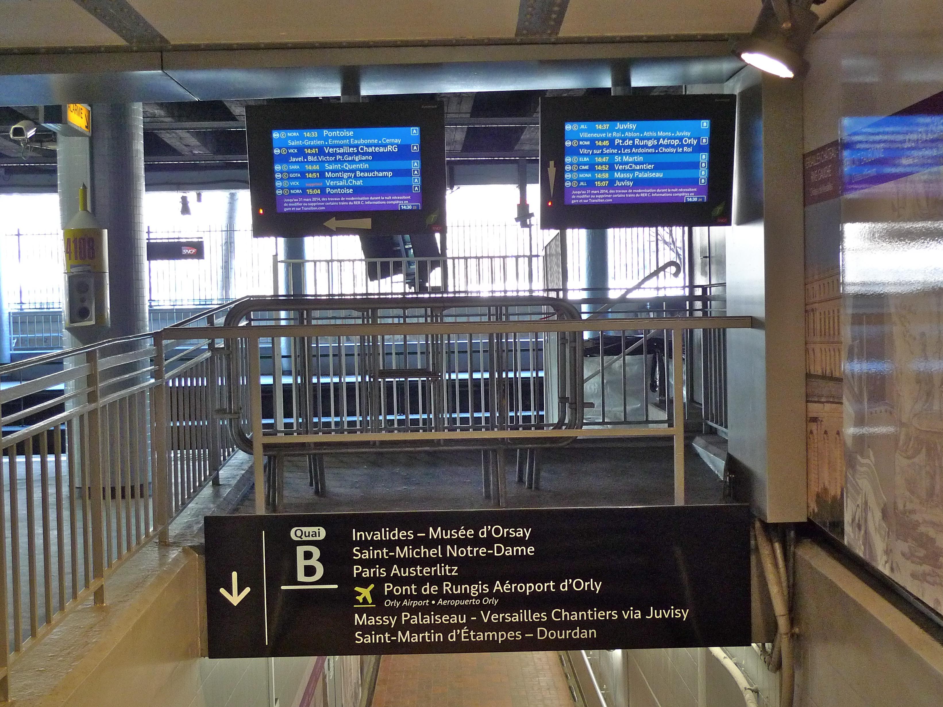 RER station Champs de Mars – Tour Eiffel