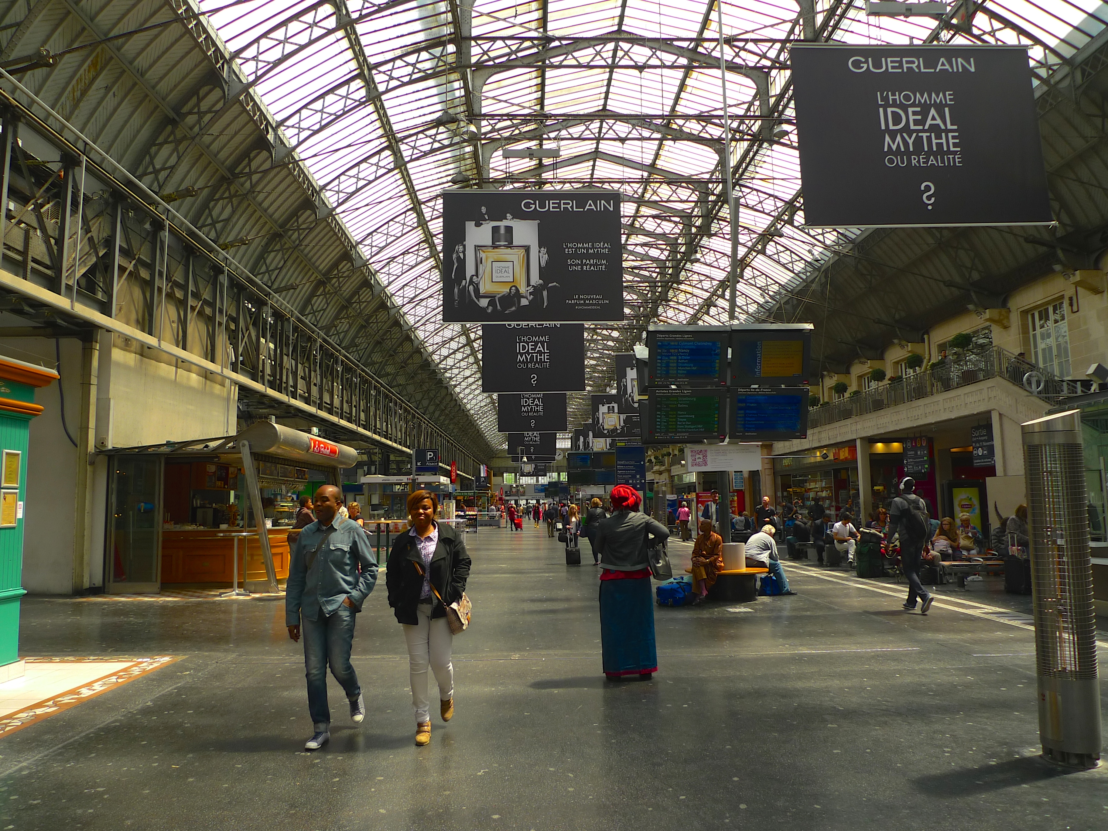 the gare de l est and its sounds soundlandscapes 39 blog. Black Bedroom Furniture Sets. Home Design Ideas