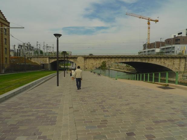 Canal Saint-Denis - Quai de la Gironde