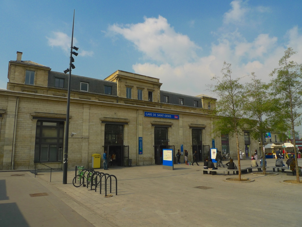 Canal Saint-Denis - Gare Saint-Denis