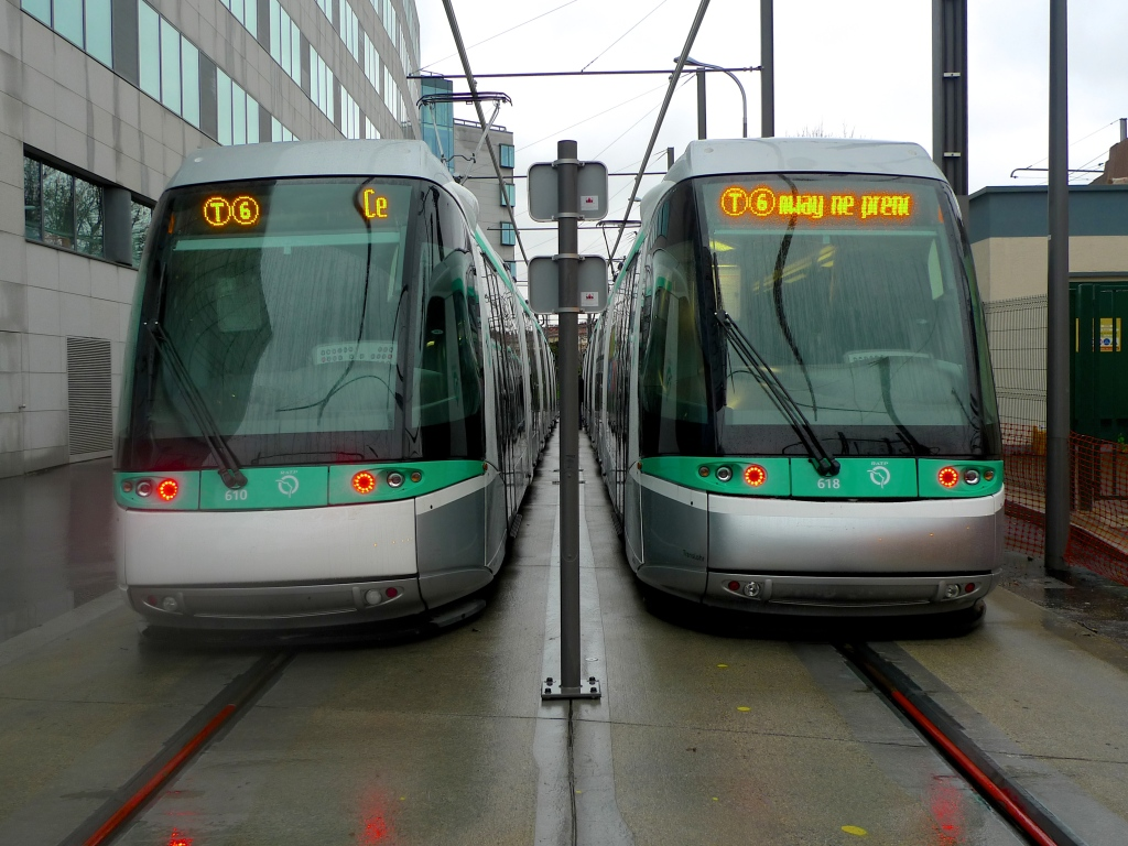 Tram Line T6 Chatillon-Montrouge