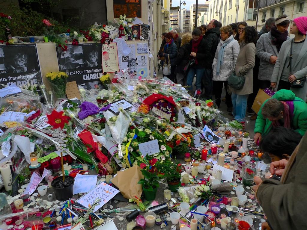 Rue Nicolas Appert - Charlie Hebdo