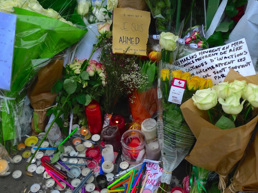 Boulevard Richard Lenoir - Charlie Hebdo
