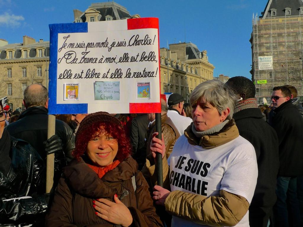 Place de la République - Charlie Hebdo