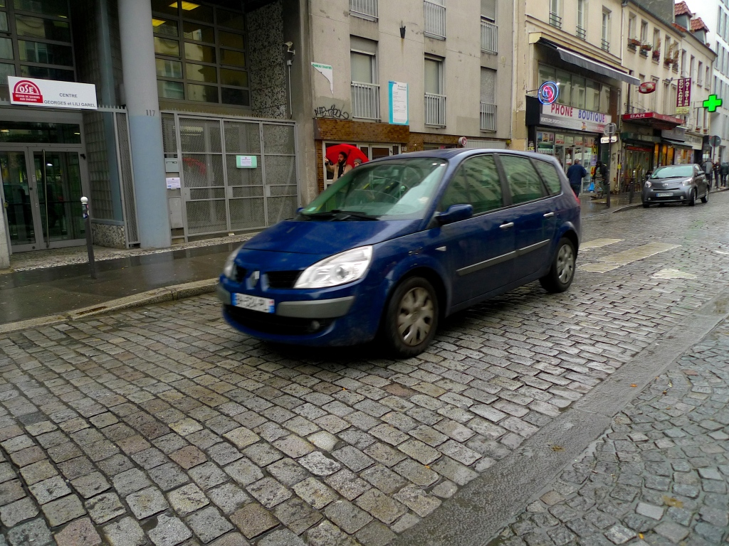 Belleville - Rue du Faubourg du Temple