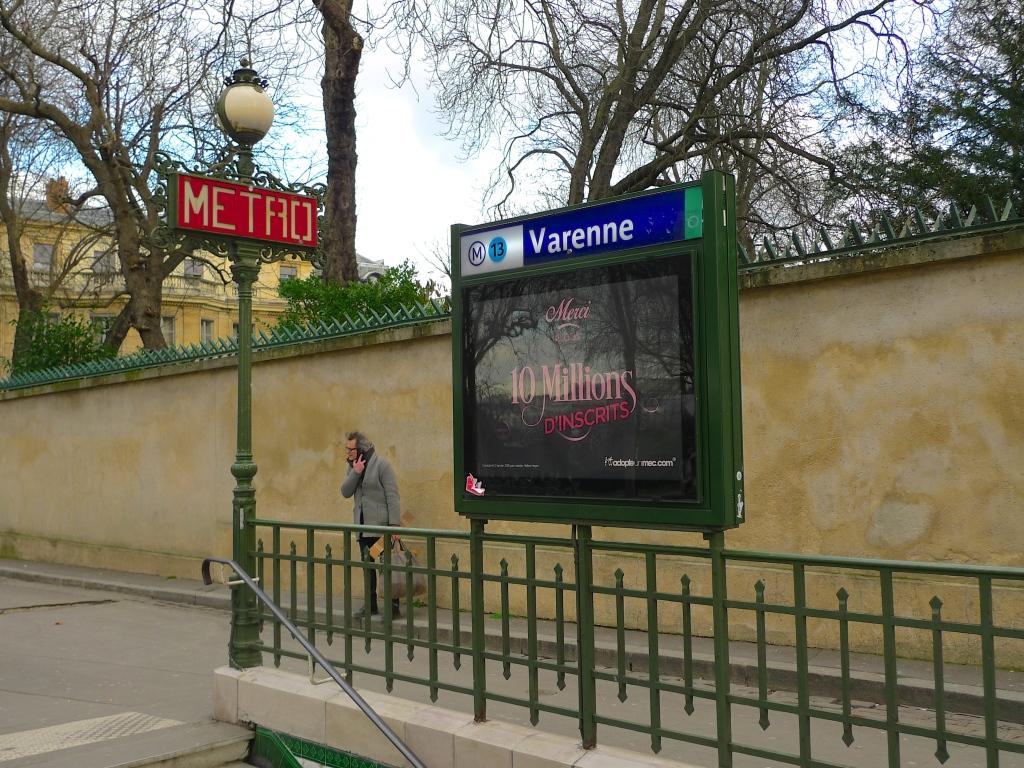 Métro Station Varenne