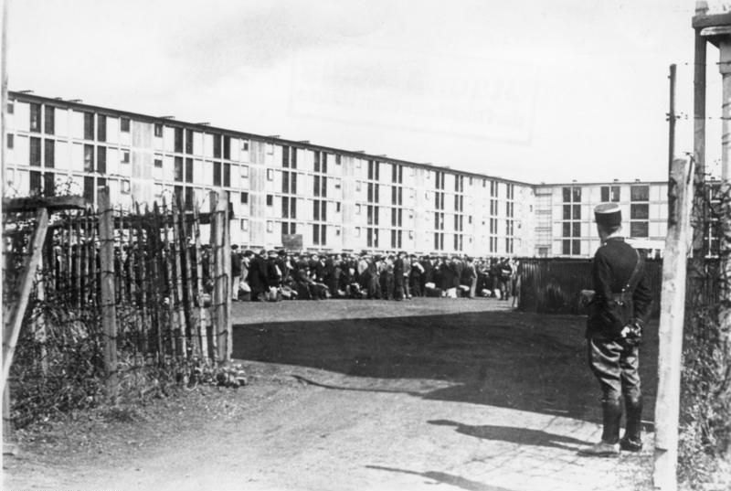 Frankreich, Paris, festgenommene Juden im Lager