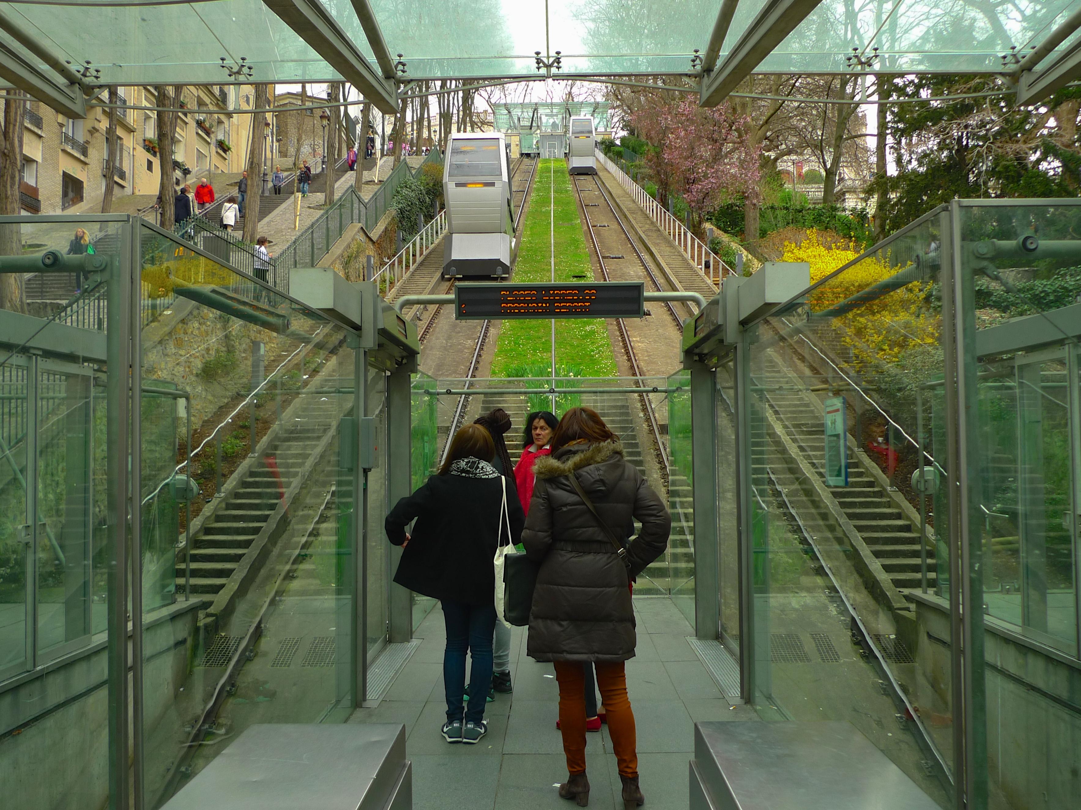 Rue Foyatier – Escalier de la Butte Montmartre