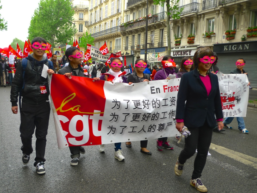 République, May Day