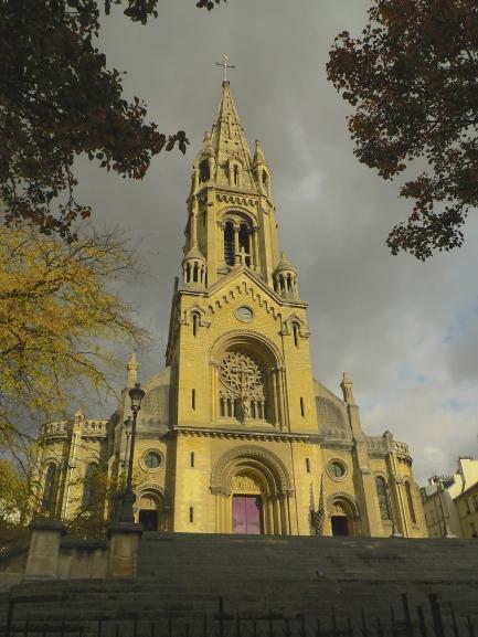 L'Eglise Notre Dame de la Croix - Ménilmontant