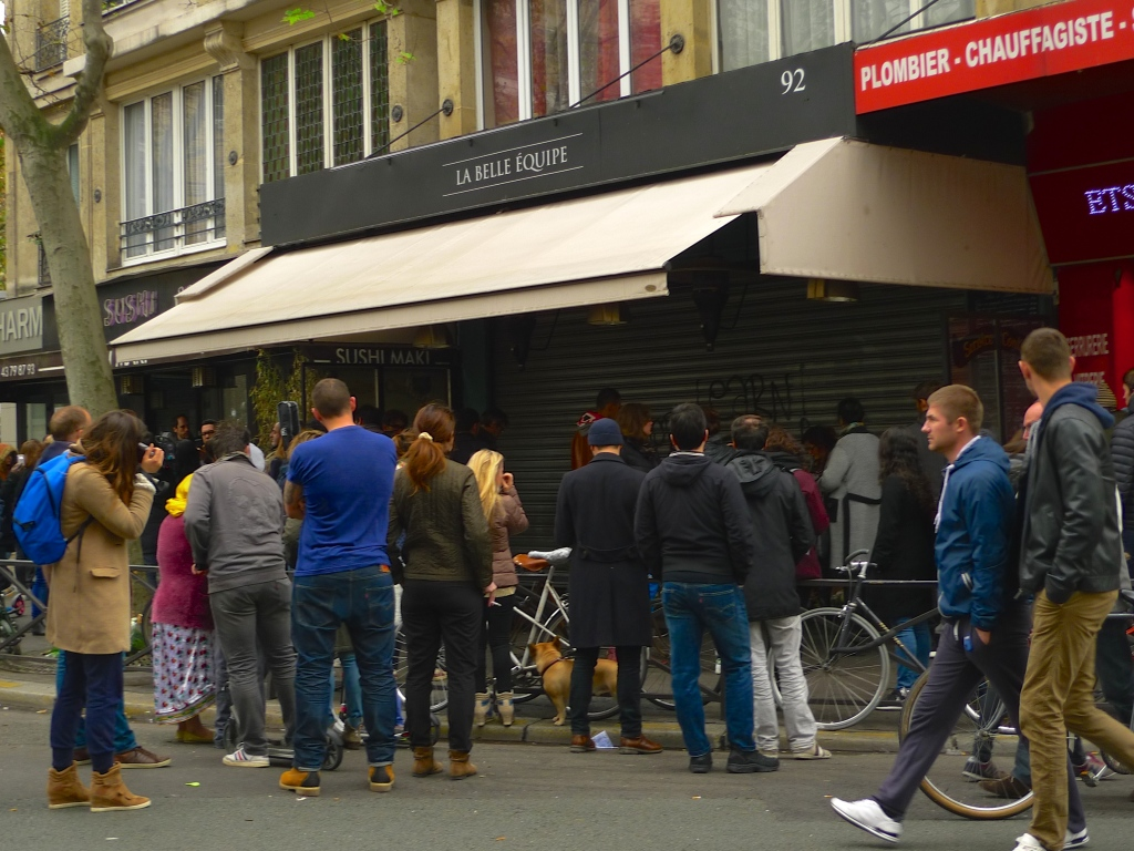 Rue de Charonne - La Belle Equipe