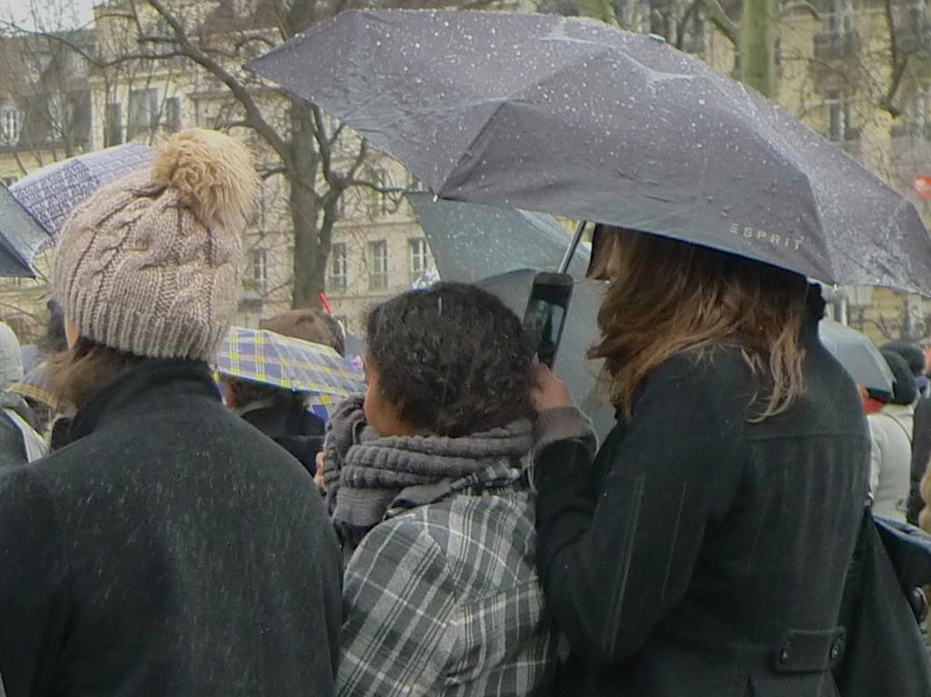 Notre Dame - Charlie Hebdo